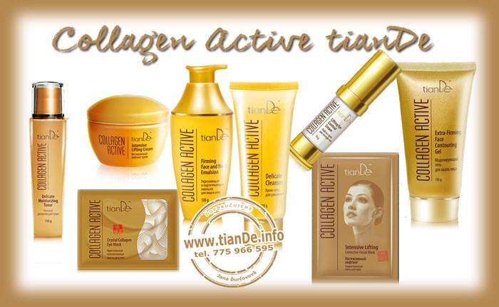 Collagen Active tianDe, péče o pleť tianDe, kosmetika tianDe