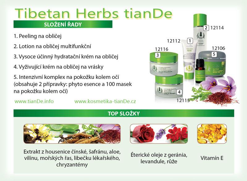 Tibetan Herbs tianDe - tibetské byliny, tianDe, kosmetika tianDe, sleva tianDe, registrace tianDe