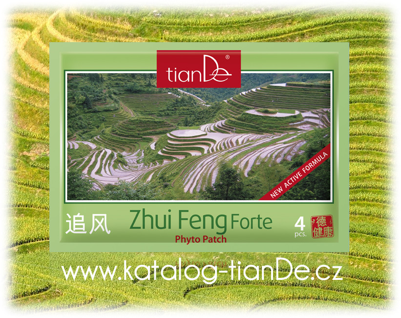 Zhui Feng forte tianDe fytonáplast