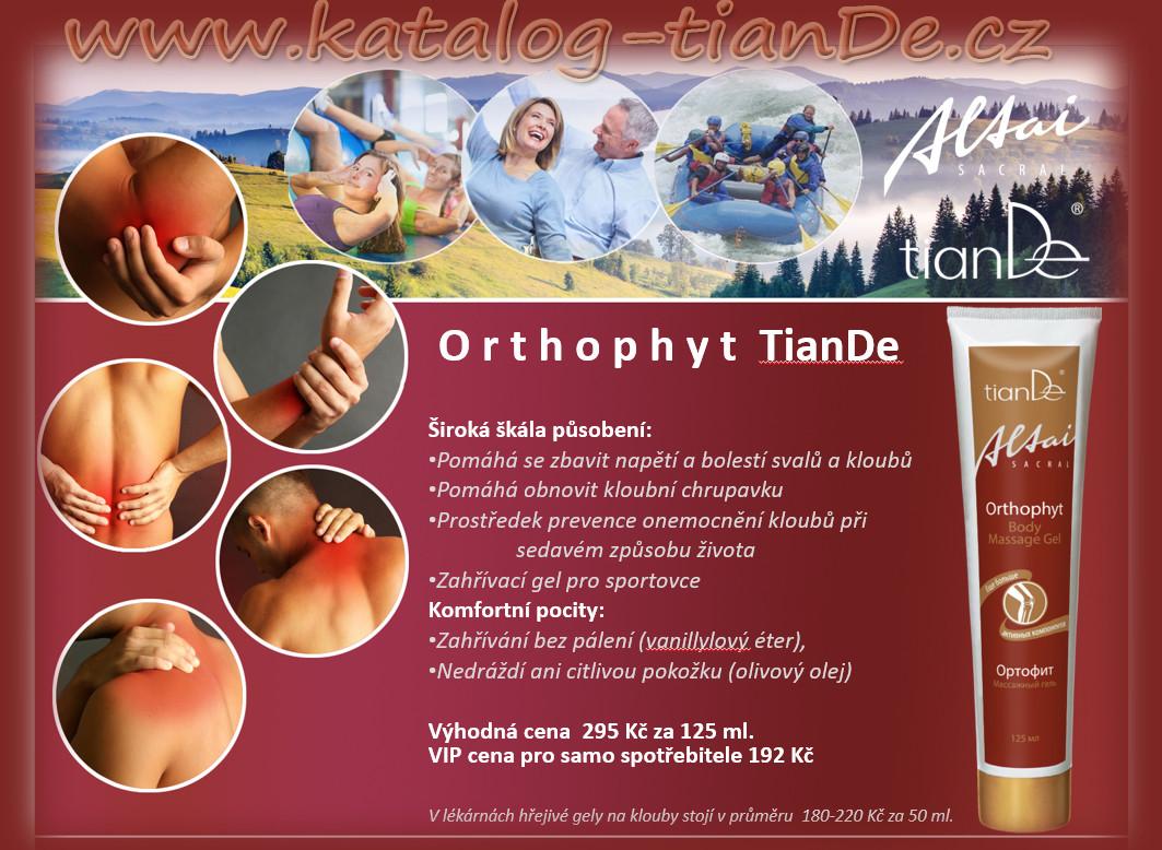 Masážní gel Orthophyt TianDe