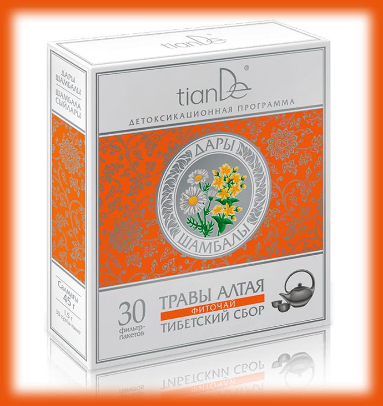 Bylinný čaj tianDe Tibetský sběr