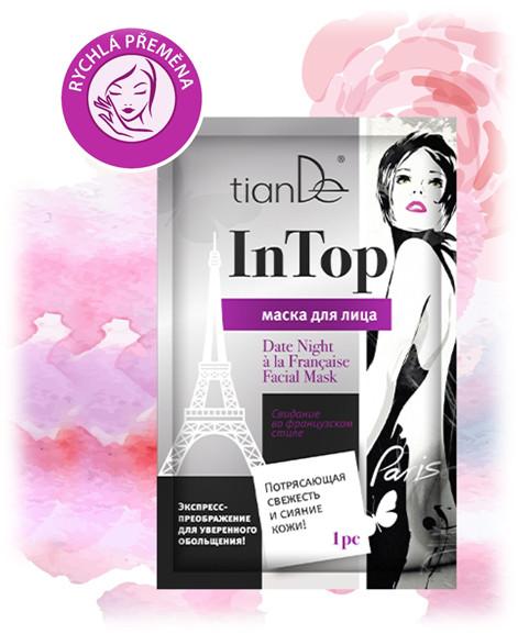 Pleťová maska Rande po francouzsku InTop TianDe