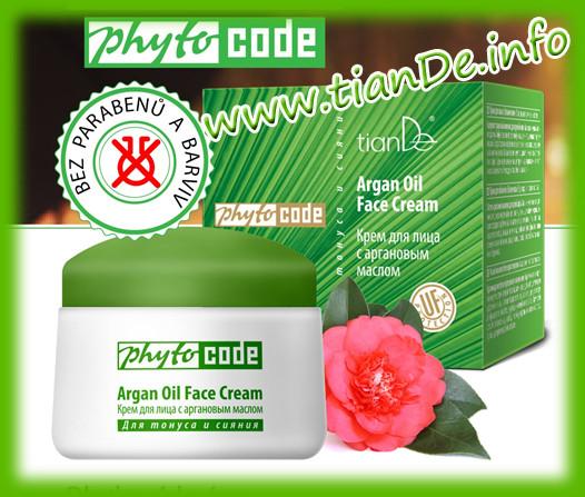 Pleťový krém s arganovým olejem PhytoCode TianDe