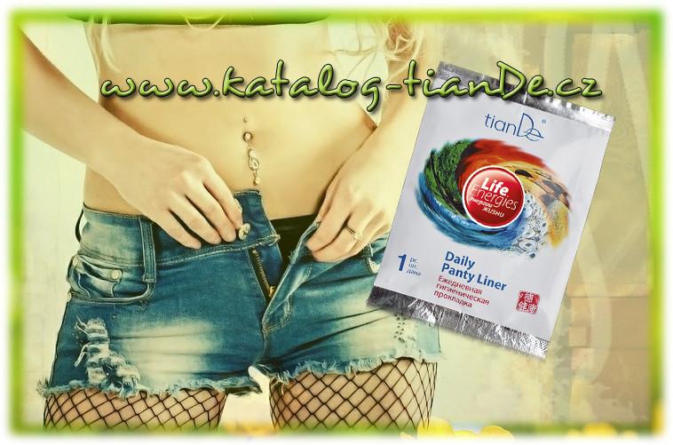 Vložka energie života tianDe, ženské zdraví tianDe, intimí hygiena tianDe