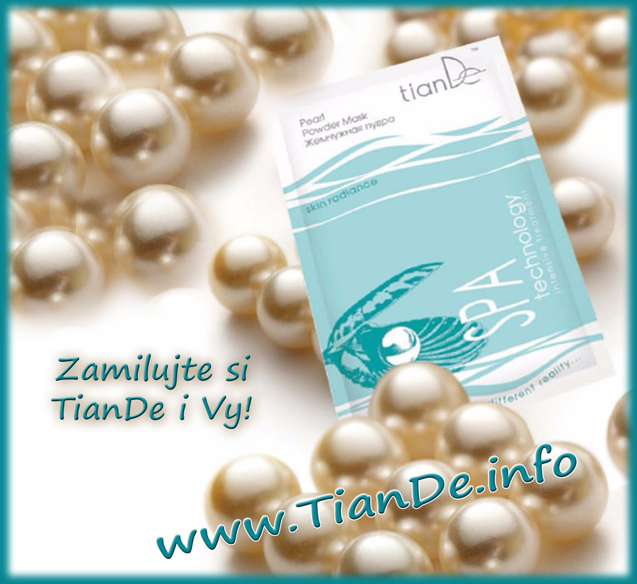 Perlový pudr TianDe