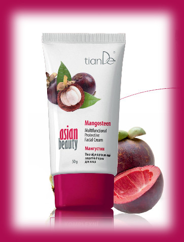 Multifunkční ochranný krém na obličej Mangostan TianDe Asian Beauty