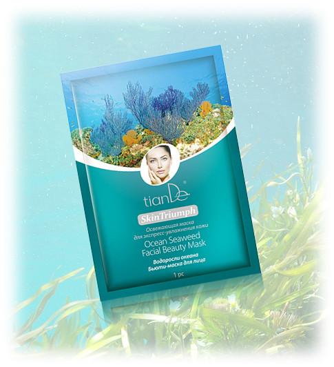 Pleťová beauty-maska s mořskými řasami TianDe