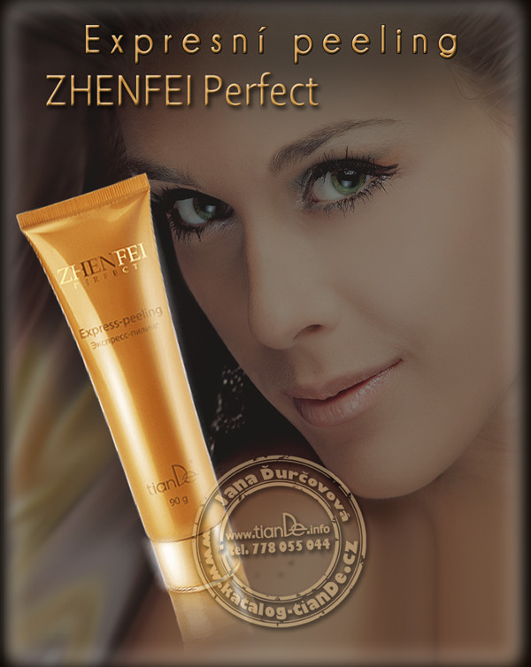 Expresní peeling Zhenfei Perfect tianDe
