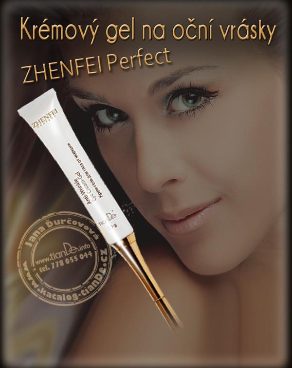 Krémový gel na oční vrásky Zhenfei Perfect tianDe