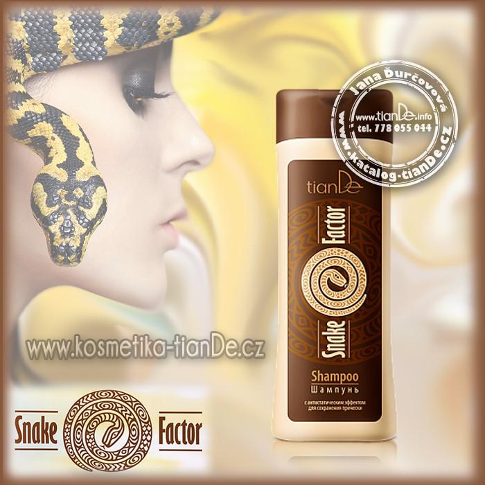Šampon na vlasy s hadím tukem - Snake Factor tianDe