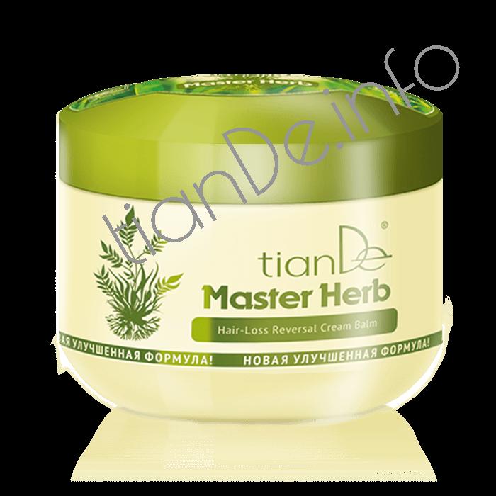 Krém – balzám na padající vlasy Master Herb tianDe