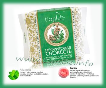 Noční menstruační vložky s použitím bylin Nefritová svěžest TianDe