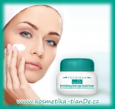 Revitalizační anti-aging krém na obličej Fucoidan TianDe