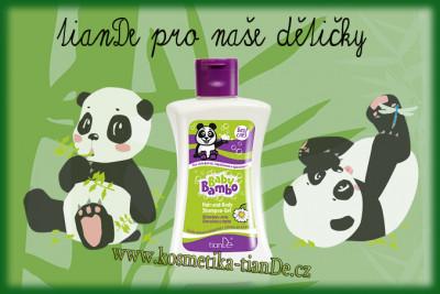 Šampon - gel na tělo a vlasy Baby Bamboo TianDe