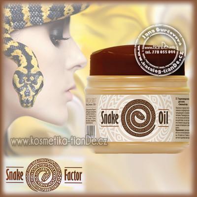 Posilující maska na vlasy Hadí tuk tianDe Snake Factor