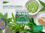 Vatové tyčinky z bambusu tianDe - eko produkt