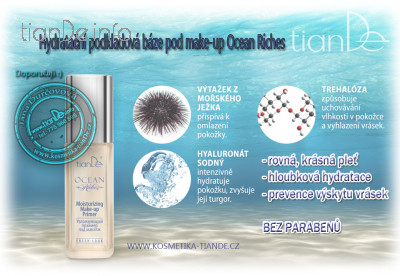 Hydratační báze pod make-up Ocean Riches tianDe