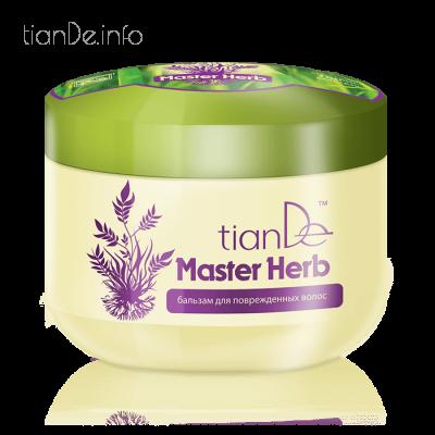 Balzám na poškozené vlasy Master Herb tianDe