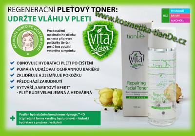 Regenerační pleťový toner Vita Derm tianDe