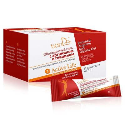 Obohacený gel s Argininem a Glycinem tianDe - doplněk stravy